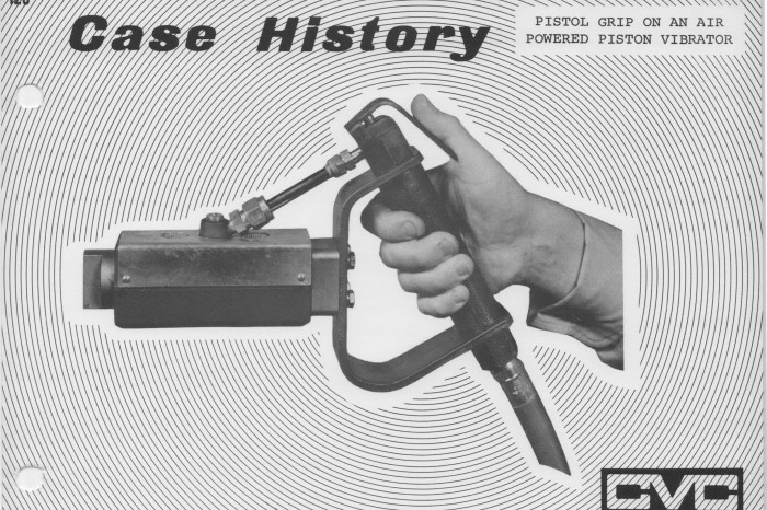 Industrial Vibration Now & Then: Portable Pneumatics