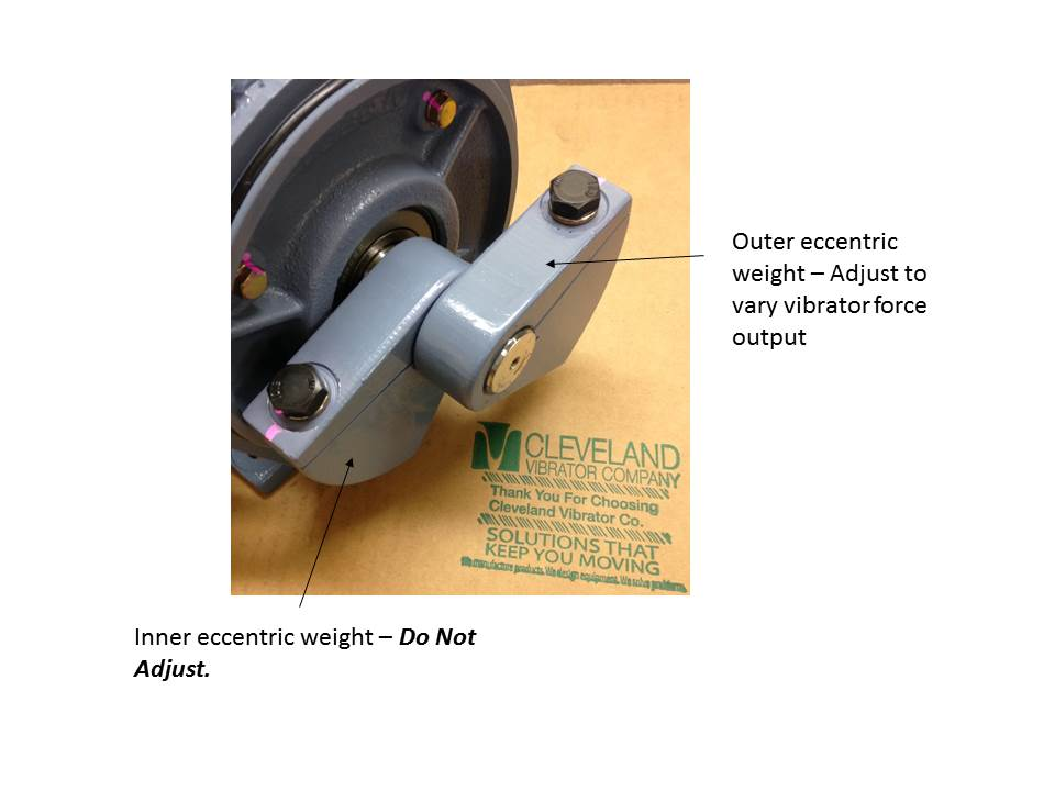 Weight adjustment inner and outer weight