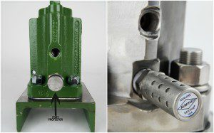Cleveland Vibrator Company - Exhaust Port & Muffler