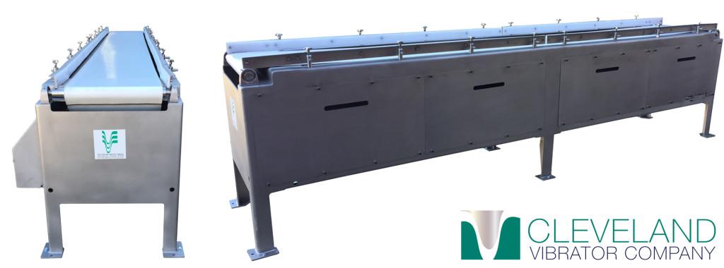 Cleveland Vibrator - BT Belt Vibratory Table