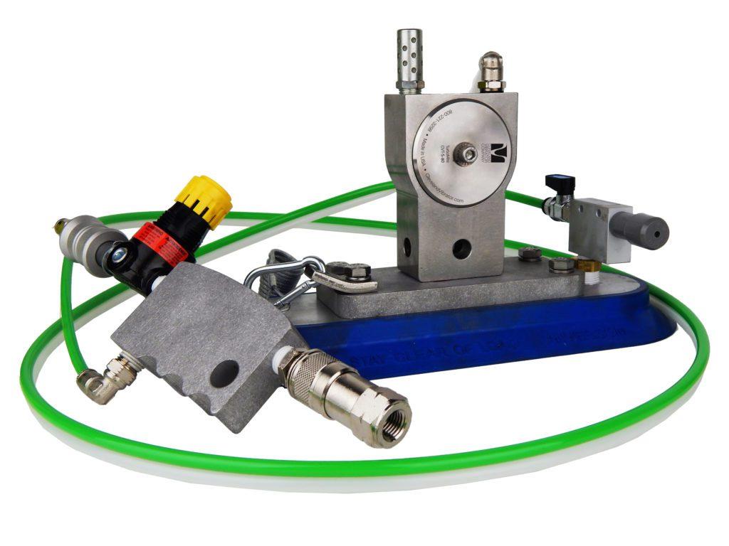 vacuum mount industrial vibrator, turbine vibrator