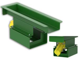 vibratory feeder, vibratory conveyor, rendering vibratory feeder